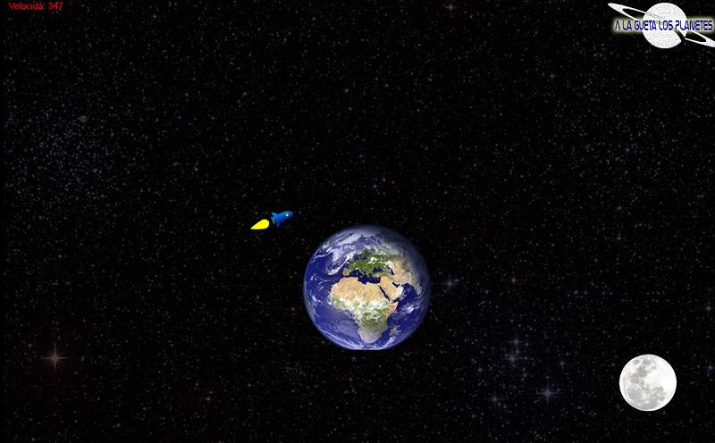 A la gueta los planetes