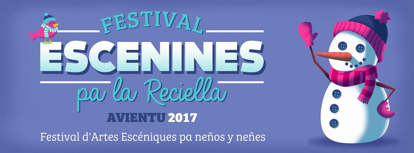 Cartelu Facebook V Festival Escenines pa la Reciella
