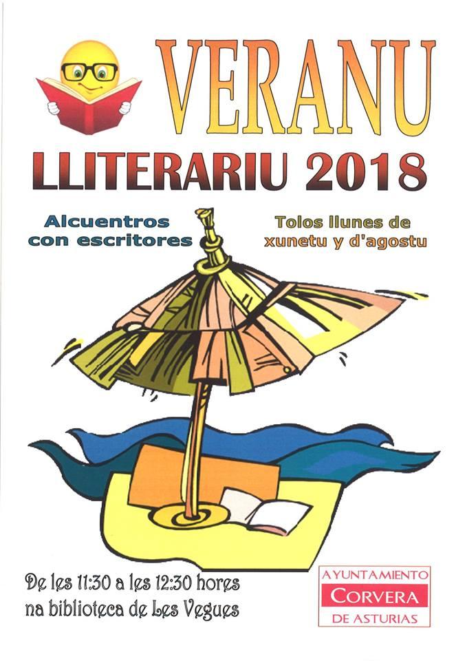 Cartelu Veranu Lliterariu 2018