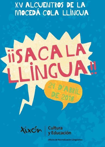 Cartelu XV Alcuentros de la Mocedá cola Llingua