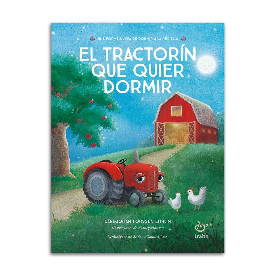Cubierta de 'El tractorín que quier dormir'