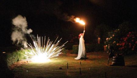 'Brigit, diosa celta del fuego', d'Hipnótica Circo Teatro