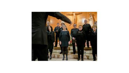 Conciertu del Coro Luis Quirós, de La Calzada.