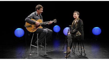 Elena Pérez Herrero y Alfredo Morán, en concierto