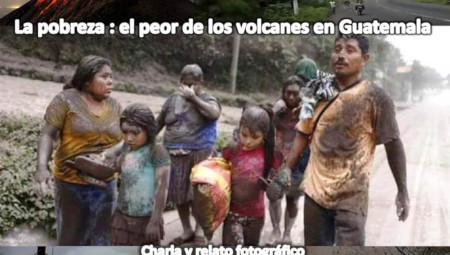 La pobreza: el peor de los volcanes en Guatemala