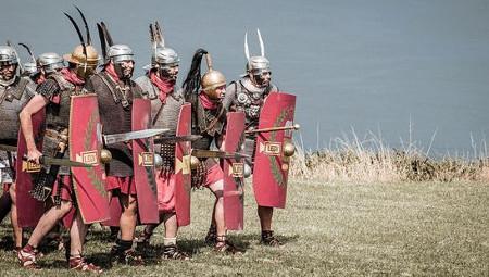 La indumentaria militar de época romana
