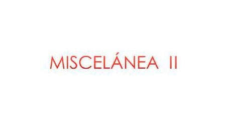 Miscelanea II