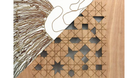 Shadow Writing (Algoritmo/Quipu). Lorenzo Sandoval