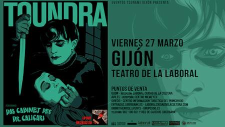 BSO de 'Das Cabinet des Dr. Caligari' con Toundra /APLAZÁU