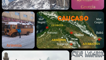 El viaje por el Cáucaso