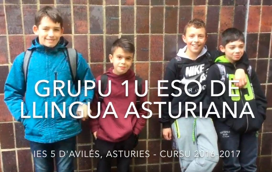 Escolinos d'asturianu del IES númberu 5 d'Avilés estrenen un curtiumetraxe pel Día Internacional de la Llingua Materna