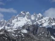 Primeros montañeros en Picos