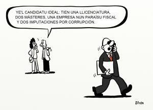 El candidatu