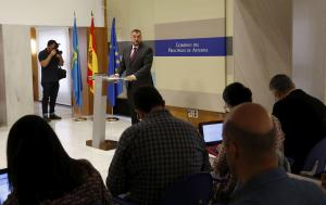 Adrián Barbón anunciu Gobiernu nuevu