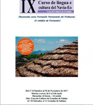 Últimos díes p'apuntase al IX Curso de Lingua e Cultura del Navia-Eo