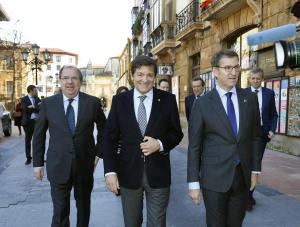 Asturies, Galicia y Castilla y Lléon xúnense contra los privilexos na financiación autonómica