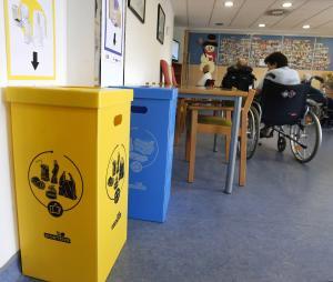 Reciclaxe en centros de mayores