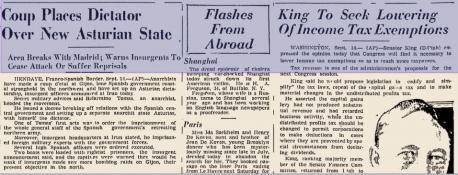 """La prensa americana anunciaba hai 80 años la creación d'un """"estáu asturianu"""""""