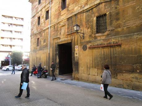 Academia de la Llingua Asturiana (ALLA) fachada