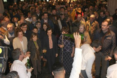 Actu embaxadores candidatura cultura sidrera patrimoniu inmaterial UNESCO en Trabanco Sariegu