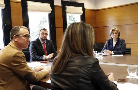 Adrián Barbón nel Comité de Coordinación COVID-19
