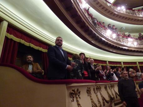 Adrián Barbón nel XL Día de les Lletres Asturianes