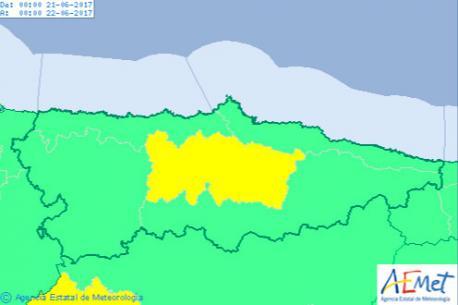 El calor toma Asturies nos díes previos a la llegada del branu