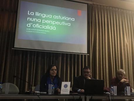 Ana María Cano y Xosé Antón González Riaño XXXVII Xornaes Internacionales d'Estudiu