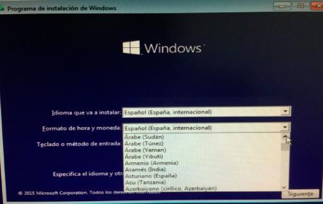 Asturianu en Windows pola incorporación al CLDR recortada