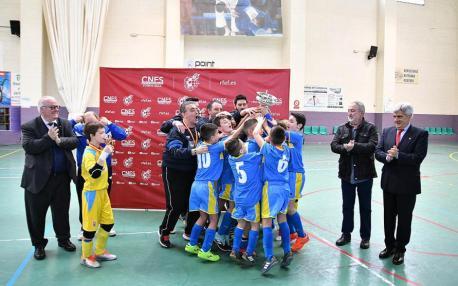 Asturies campeona benxamín de fútbol-sala II