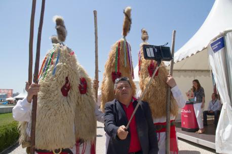 Autosemeya con Los Sidros nel XIII Festival Internacional da Máscara Ibérica