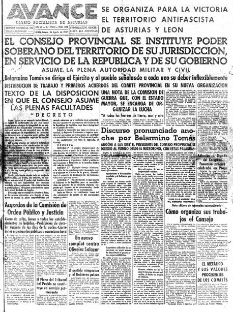 El Conseyu Soberanu d'Asturies y Lleón cumple 80 años