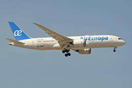 Avión d'Air Europa por Alan Wilson
