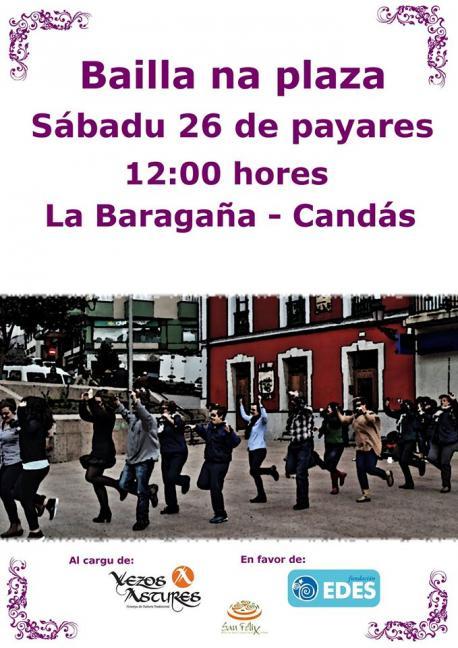 Bailla na Plaza con Vezos Astures