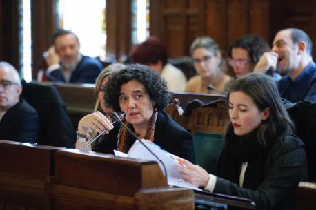 Berta Piñán comparecencia Presupuestos 2020