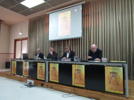 Carlos Lastra, Xosé Antón González Riaño, José Ramón Obeso y José Antonio Gómez Rodríguez