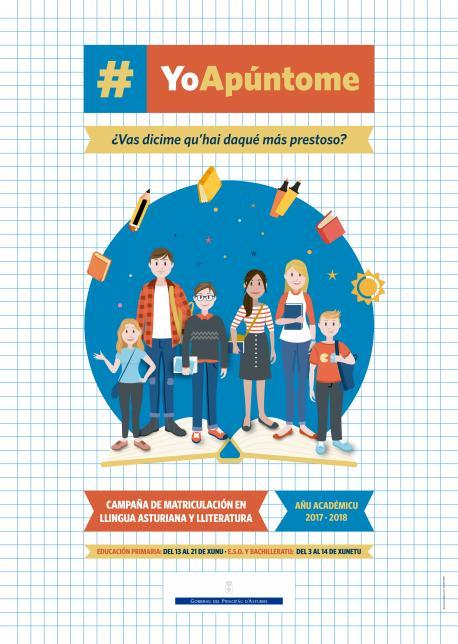 Comienza la campaña de matriculación pa les materies de Llingua Asturiana y Gallego-asturiano