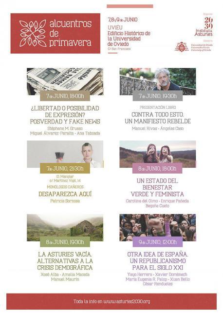 Cartelu Alcuentros de Primavera 2018