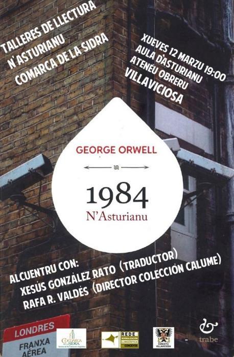 Cartelu alcuentru con llectores Villaviciosa '1984'