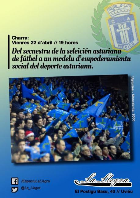 Charra seleición asturiana La Llegra