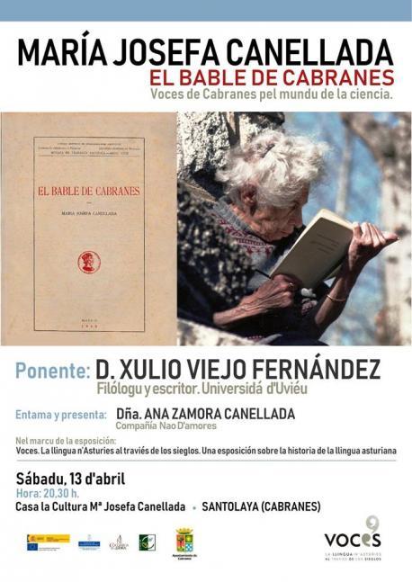 Cartelu charra Xulio Viejo 'Voces' en Santolaya