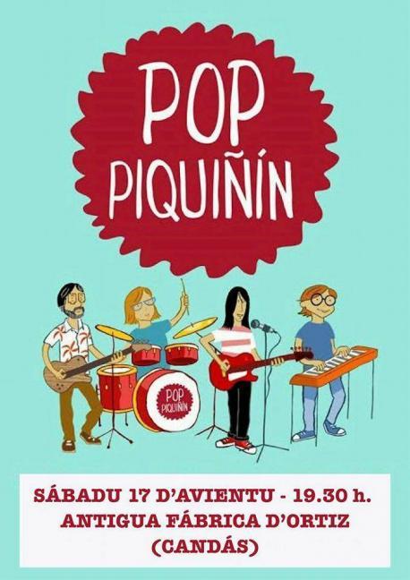 Pop Piquiñín lleva a Candás los cantares de 'Andamos en bici'