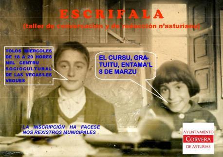 Corvera entama un taller de conversación y redaición n'asturianu