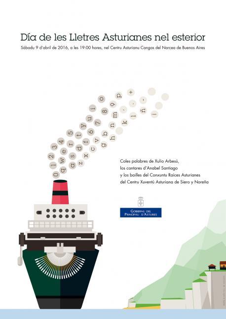 El Centru Asturianu de Cangas del Narcea de Buenos Aires acueye'l Día de les Lletres Asturianes nel Esterior