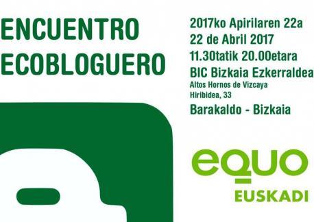 Cartelu Encuentro Ecobloguero
