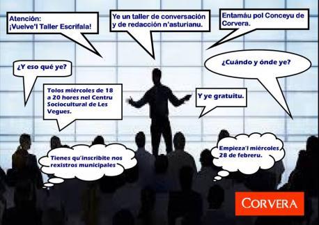 Entámase una edición nueva de 'Escrifala', taller de conversación y redaición n'asturianu