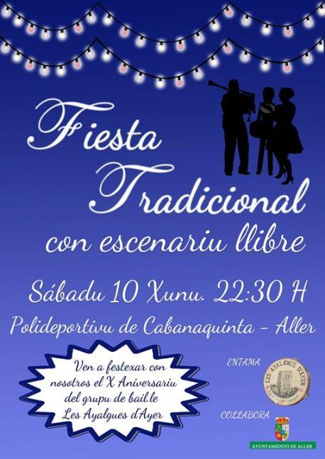 Les Ayalgues d'Ayer celebra diez años con una fiesta con bailles tradicionales