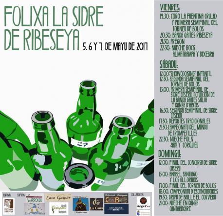 Cartelu Folixa la Sidre de Ribeseya 2017