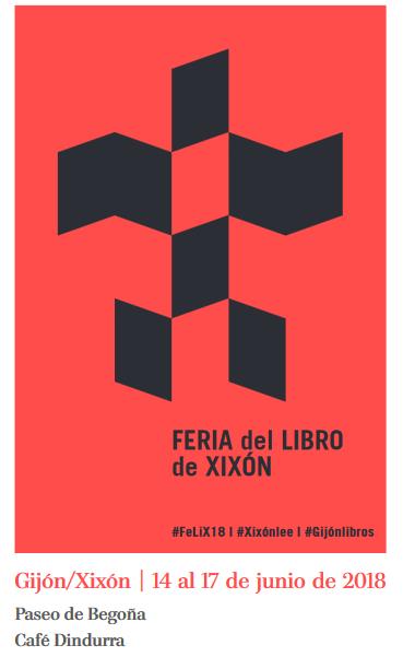 Cartelu II Feria del Llibru de Xixón