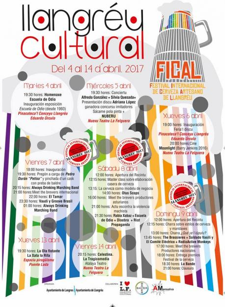 Cartelu Llangréu Cultural 2017